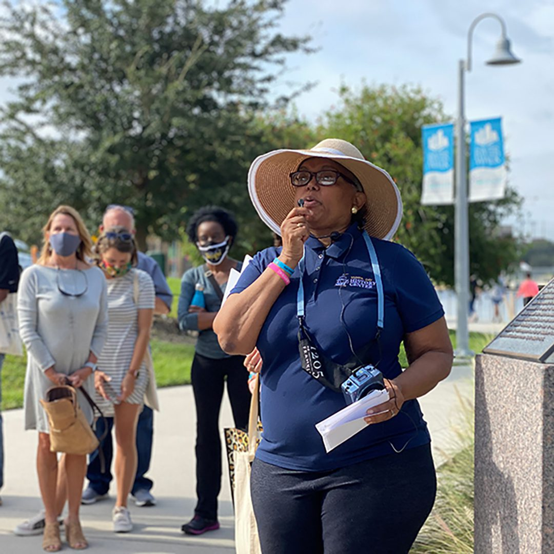 Tampa Bay History Center Madame Fortune Taylor  Walking Tour
