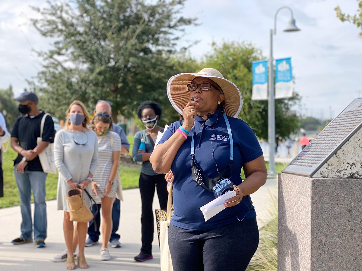Tampa Bay History Center Madame Fortune Taylor Walking Tour Photo