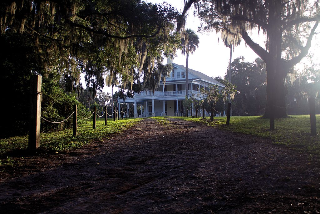 Chinsegut Hill Historic Site, in partnership with the Tampa Bay History Center, photo of nature trail and manor house